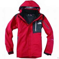 North Face Triclimate 3 In 1 Jacket Tomato-Mens