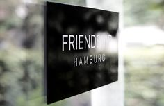 In Friendship we trust! #window #signage #friendship