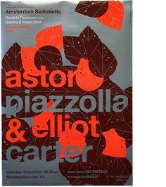 Rejane Dal Bello - Adam Sinfonietta Posters #print #graphic design #poster