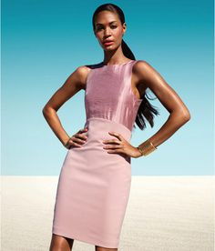 Joan Smalls for H&M Spring Lookbook 2013