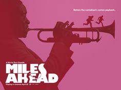 Miles Ahead #poster #movie #cinema