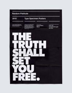 Je te veux. N'arrête pas. #font #white #black #extra #on #poster #futura #typography
