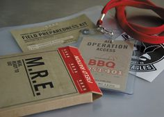 BBQPost 401 Invitations #packaging #safety #the #mre #kit #republik