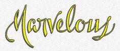 Agency26 - Custom Letters Blog — #lettering #script #jaramillo #marvelous #type #brian