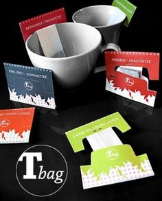 最富創意T-bag | BlackHK #packaging #design #product #tea #bag