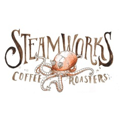 Steamworks Logo | Projects | 12 Grain | Design & Illustration Studio | Buffalo, NY