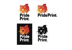 Pride Print branding : ... #logo #brand #branding