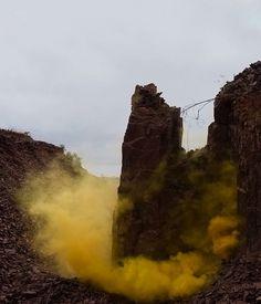 Smoke Signals Paint Mexico\'s Desert Sky - My Modern Metropolis