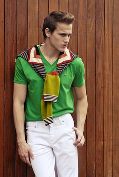 Preppy Editorial by Guilherme Benites #lacoste #preppy #fashion #man #social