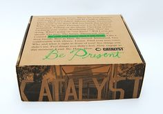 Catalyst East Coast Conference Kit - FPO: For Print Only #packaging #print #conference #identity