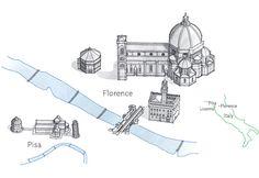 Conde Nast Traveler #illustration #vector #maps