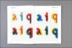 generative #design #typography #generative #dina silanteva
