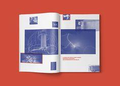 Nikola Tesla / Pressbook. on Behance #print #editorial #magazine