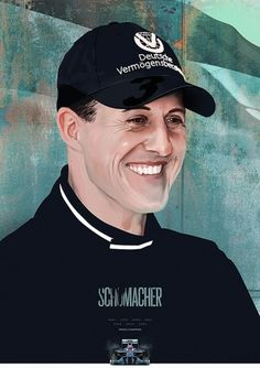 F1 Heroes - Portraits on the Behance Network #car #racing #schumacher