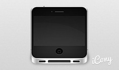 Iphone 4 icon Free Psd. See more inspiration related to Icon, Iphone, Horizontal and Tiny on Freepik.