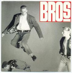 All sizes | Bros - Drop The Boy | Flickr - Photo Sharing! #album #lettering #bros #cover #record