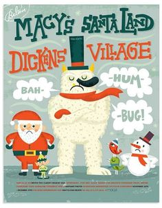 FFFFOUND! | Holiday campaign for Macy's! | Flickr - Photo Sharing! #design #graphic
