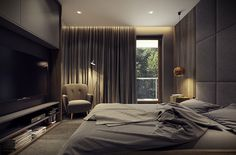Modern Bedroom °2 - Apartment °1 #modern #bedroom #cameradaletto #moderna #appartamento #moderno
