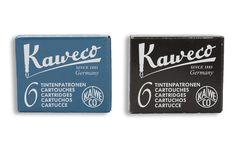 Kaweco Fountain Pen Refills Various Colors #packaging #logo