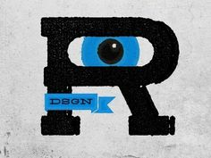 Dribbble - R... by Ricardo Cabrita #retro #ofset #printing #vintage #logo