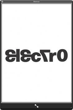 Electro typography | Flickr - Photo Sharing! #editsbyedit #studio #this