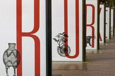 photo #scale #design #exhibition #large #typography