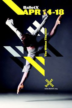 BalletX 2010 Poster Series - Graphis