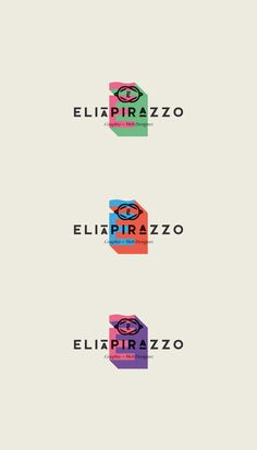 Elia Pirazzo Re - Brand on Behance #logo #brand #elia #pirazzo