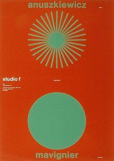 Almir Mavignier – Cartazes, 1957-2008 – Acervo Museu de Arte Moderna de São Paulo #color