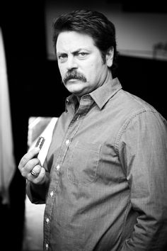 Nick Offerman for Movember