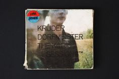 Hardformat » Kruder & Dorfmeister – The K&D Sessions #music #cover #cd