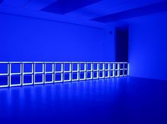 WE DARE SPEAK (A MOMENT ONLY): DAN FLAVIN #sculpture #light #lights #colour #fluorescent #flavin