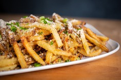 Houston Food Photography - Bernie's Burger Bus #foodphotography #fries #houston #food