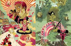 Overkill: The Art of Tomer Hanuka #illustration #tomer #hanuka