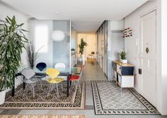 Narch architecture | Decorative tiles barcelona apartment interior renovation