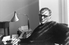 Arthur Miller by Henri Cartier-Bresson