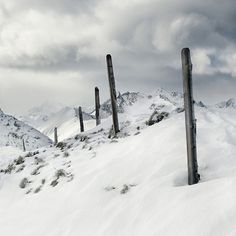 Alps/Winter on the Behance Network