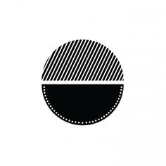 Black Dot Project #think #design #black #circle #minimalist