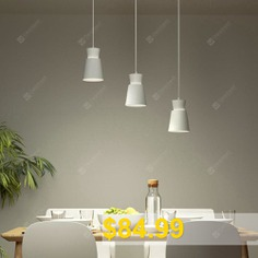 Yeelight #Three-head #E27 #Universal #Dining #Table #Pendant #Light #Adjustable #Chandelier #Height #Support #Voice #Control #AC220 #- #240V #( #Xiaomi #Ecosystem #Product #) #- #WHITE