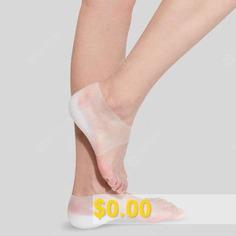 Inside #Socks #Hidden #Heightening #Insoles #Comfortable #Silicone #Heel #Pad #- #MILK #WHITE