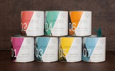 Tea packaging by Foundry Co. #packaging #typography