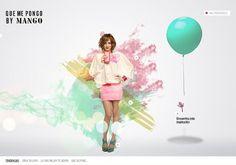 Que me pongo by Mango (spring 09) on Web Design Served #vcvb