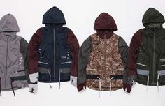 A Closer Look At The Nike x Undercover GYAKUSOU Collection #fashion #nike #jacket #mens