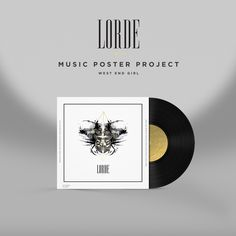 lorde band poster, band, poster design, poster, music album, fan art, album, music, graphic design, simple design, clean design, fashion, li