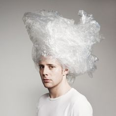 All sizes | hairstyle | Flickr - Photo Sharing! #pale #strange #photography #portrait #plastic