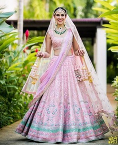 Look Pretty and Playful With this Lehenga