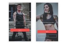 Taakat – Fitness & Workout UI Kit