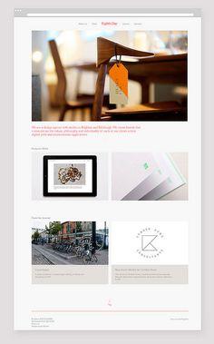 Eighthdaydesign.com #design #website #layout #web #eighthday