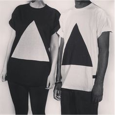 werkhausltd:Werkhausltd.bigcartel.com #triangle #geometric #shirt