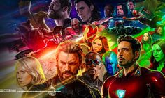 Avengers Infinity War Cast Desktop Hd Backgrounds – WallpapersBae